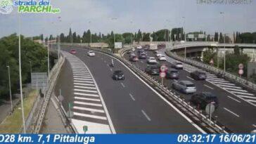 Autostrade in tempo reale oggi 16 giugno 2021