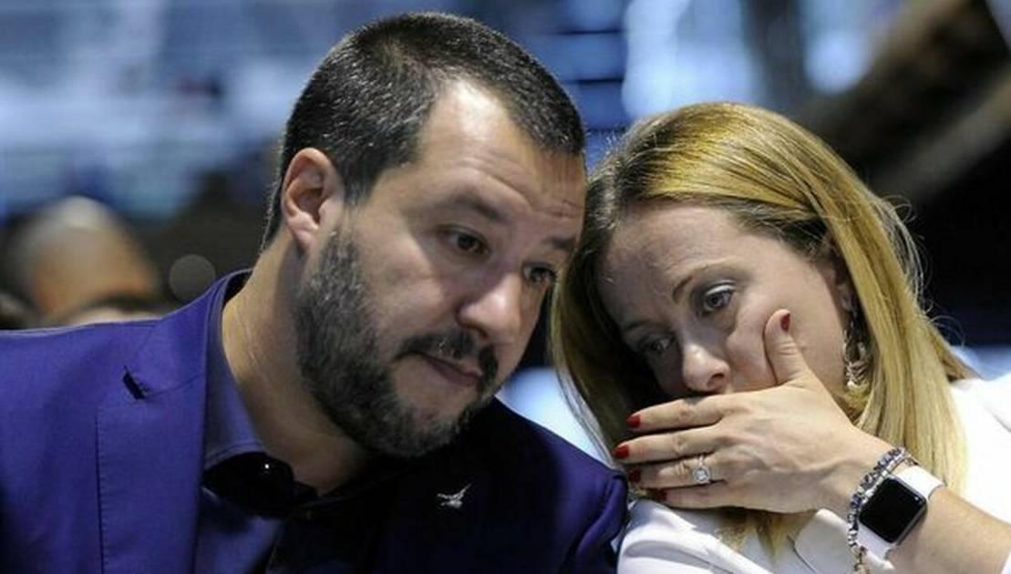 media sondaggi oggi Salvini Meloni