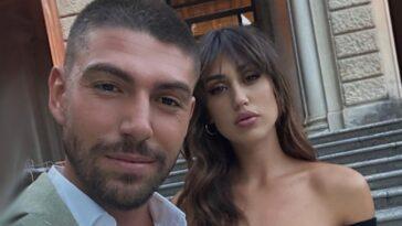 Cecilia Rodriguez e Ignazio Moser figlio