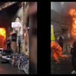 Londra incendio stazione Elephant and Castle: boato e fiamme altissime