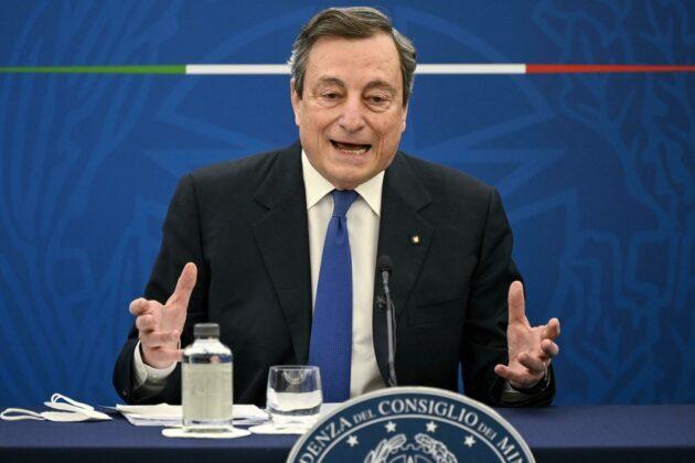 Mario Draghi sbarchi migranti