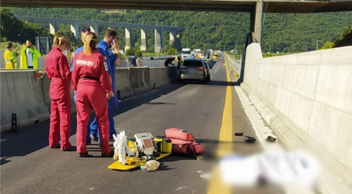 pizzo incidente autostrada