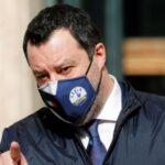 Salvini mascherina