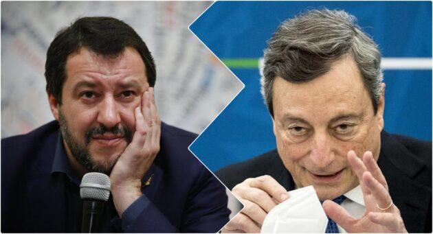 draghi Salvini