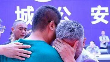 Cina ritrova il figlio