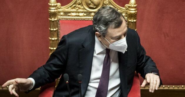 politici italiani vacanza draghi