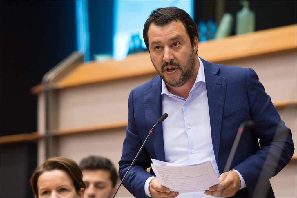 draghi Salvini scontro