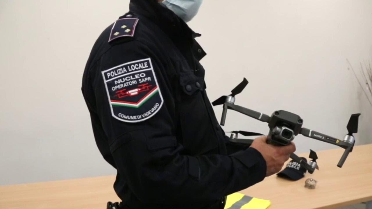 drone multa duomo Milano