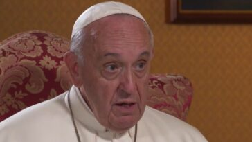 Papa Francesco operazione