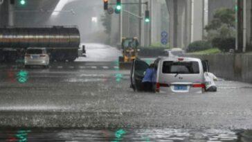 inondazioni Cina metropolitana