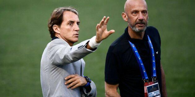 Roberto Mancini fisico