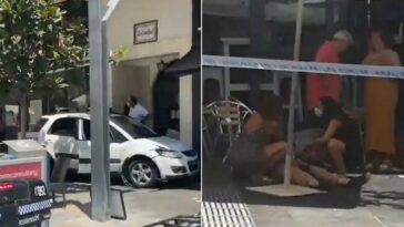 Marbella auto si schianta