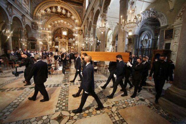 Raffaella Carrà funerali