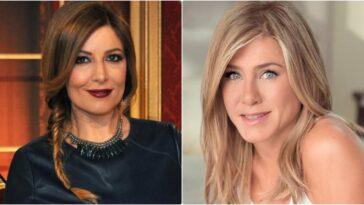 selvaggia Lucarelli e Jennifer Aniston