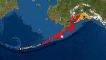 Terremoto in Alaska