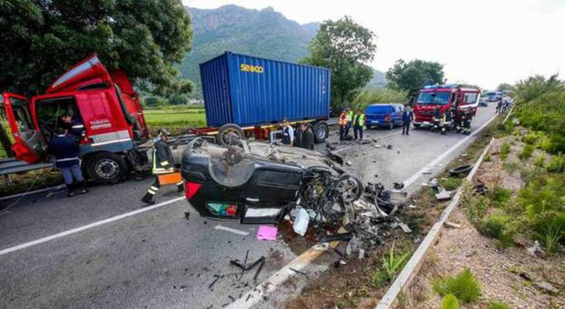Incidente stradale Itri