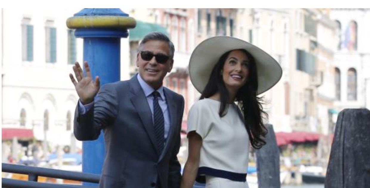 George Clooney terzo figlio