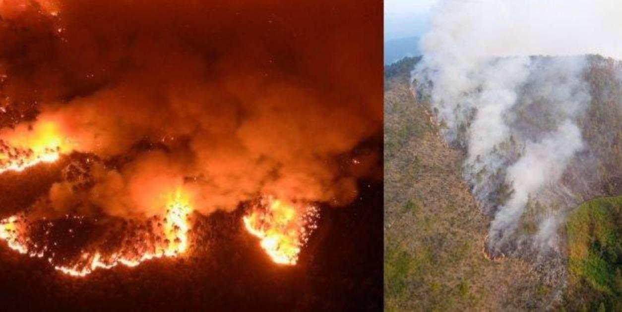 Incendio La Spezia Framura