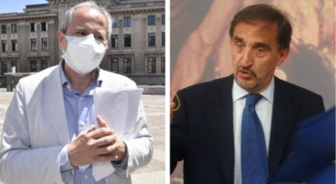 mascherina anche con vaccino Covid e Green pass polemica crisanti la russa