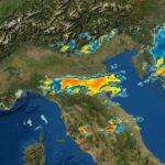 meteo prossime ore forti temporali dove