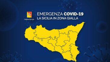 sicilia zona gialla da oggi