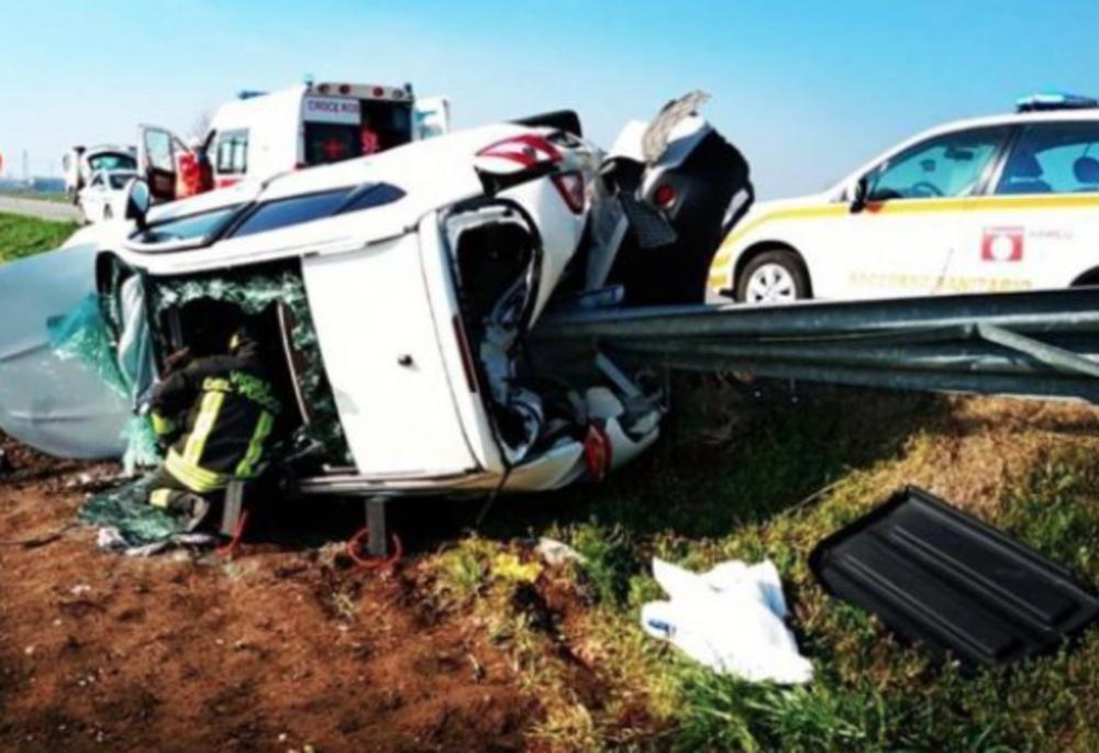 Incidente stradale a Ghedi