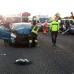 incidente A4 Verona