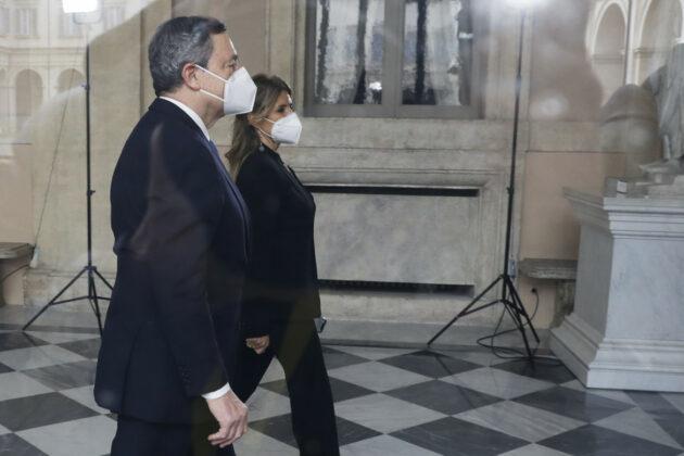 Mario Draghi fuori onda