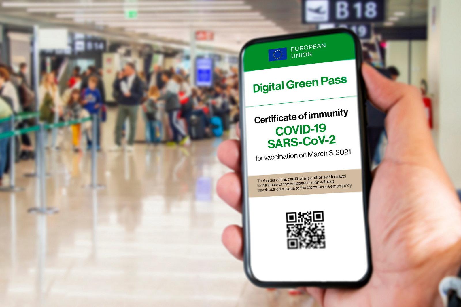 green pass documenti