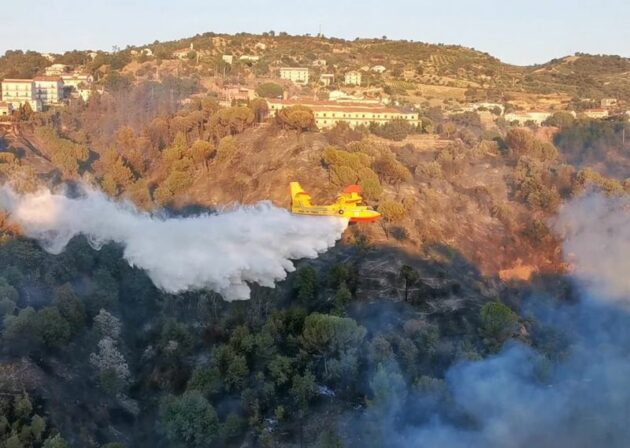 Incendi Calabria