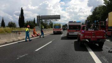 Incidente A15 Parma