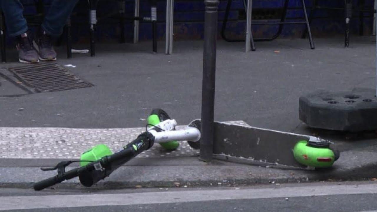 incidente monopattino Firenze