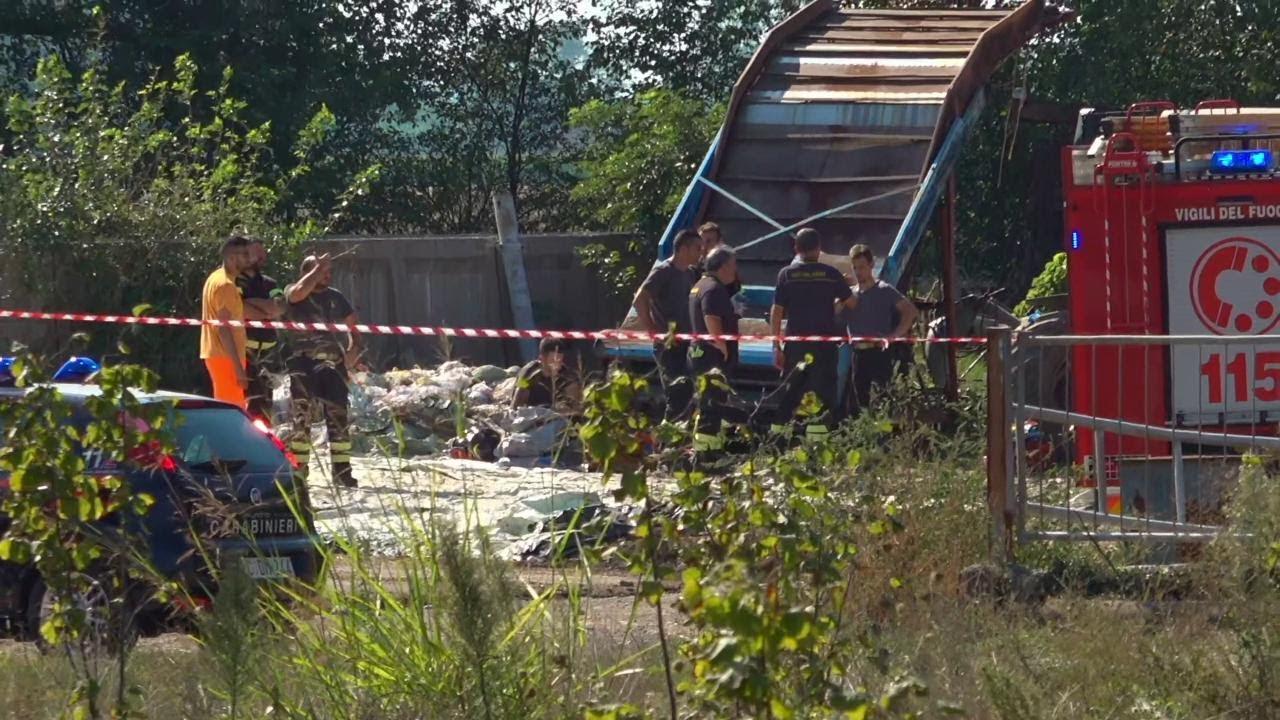 Incidente sul lavoro Bergamo