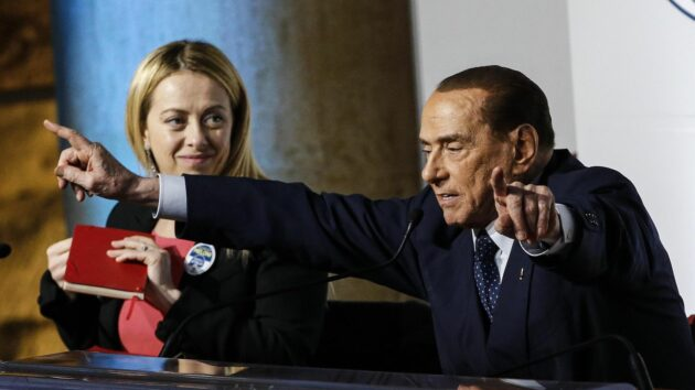 meloni Berlusconi