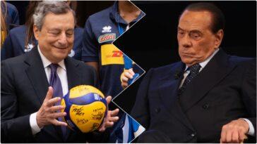 Berlusconi presidente repubblica draghi
