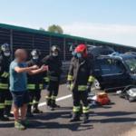 Vicenza incidente sull'autostrada A4