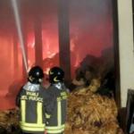 Sant'Antonio di Castellamonte incendio