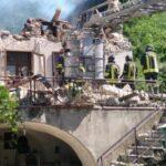 Massa Carrara esplosione