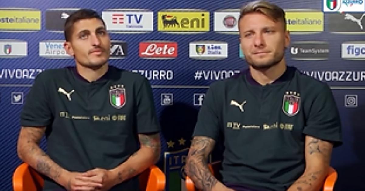 Nazionale italiana Immobile Verratti