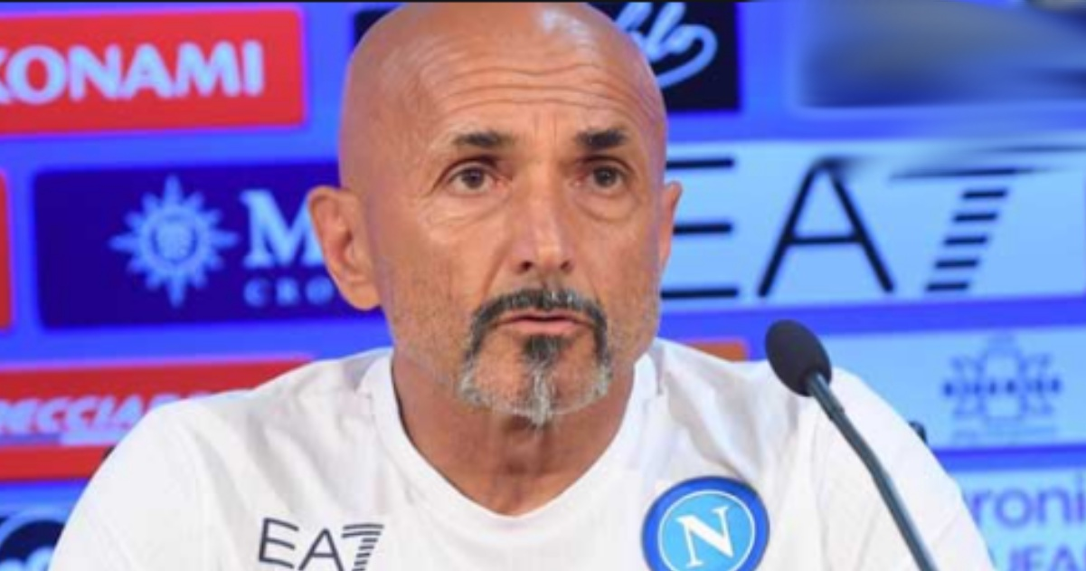Napoli calcio Luciano Spalletti
