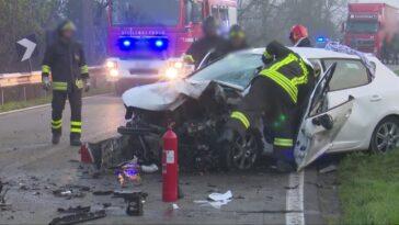Frosinone incidente stradale