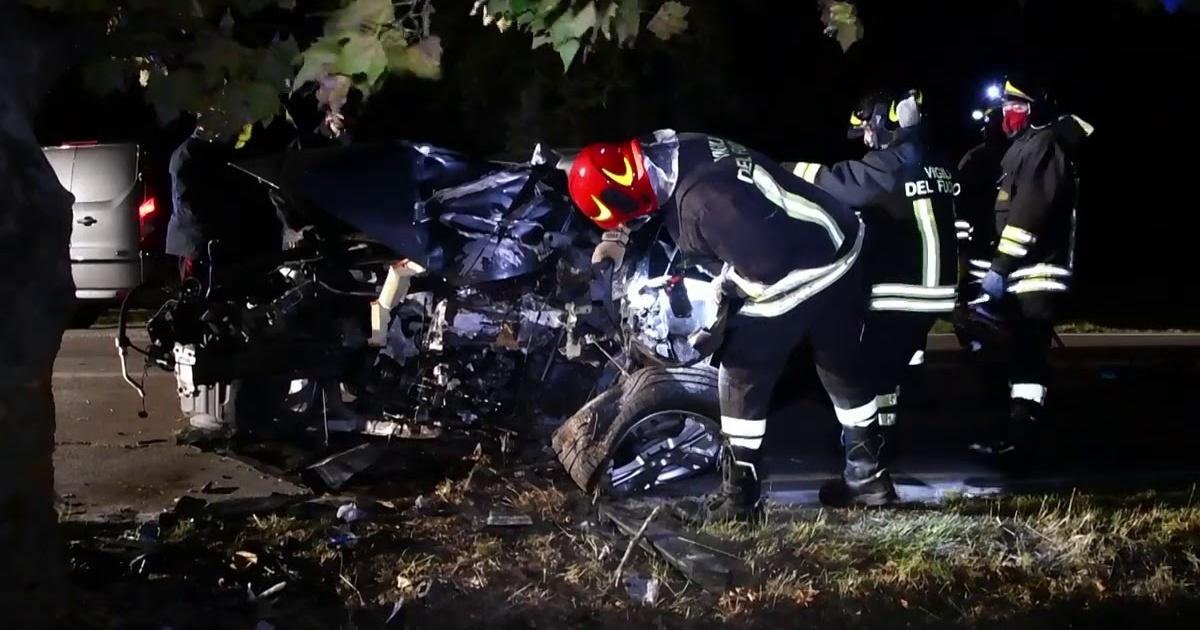 Grottaminarda incidente stradale