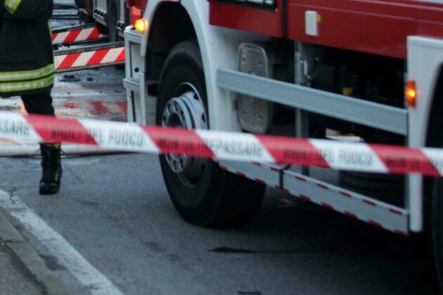 Frosinone incidente moto