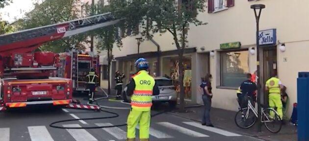 Bolzano incendio