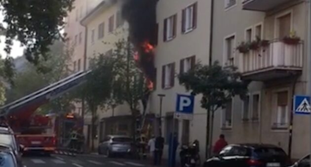 incendio Bolzano