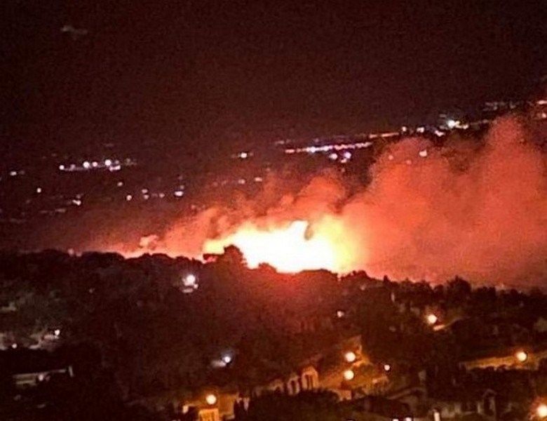 incendio Capalbio
