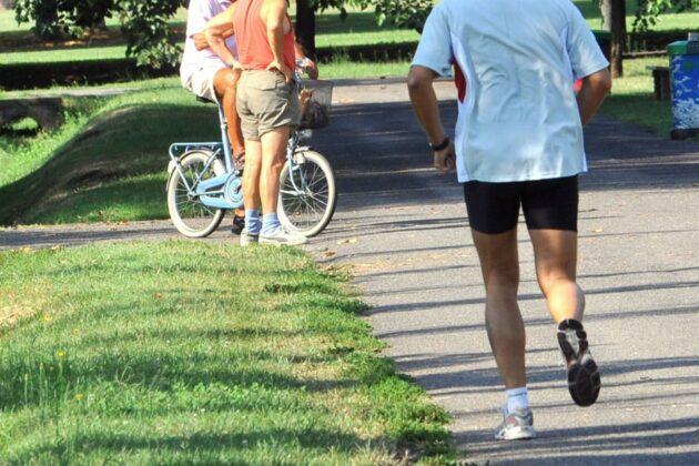 jogging malore