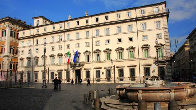 draghi news Palazzo Chigi
