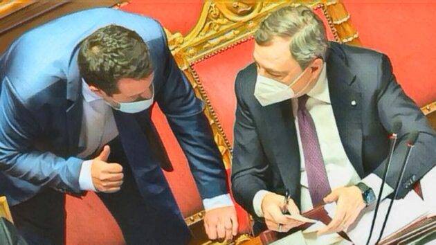 Salvini draghi