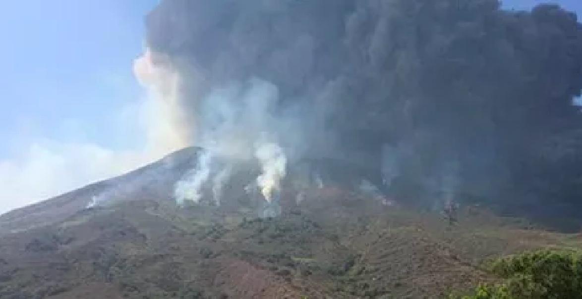 Vulcano Stromboli esplosione avvertita in tutta l'isola